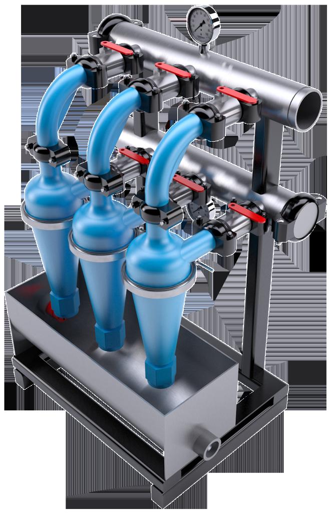 Urethan Hydrocyclone Manifold
